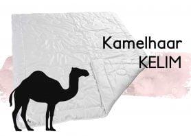 Kamelhaarduvet Kelim Kamel