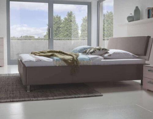 Hasena Bett Dream-Line Curvino Polsterbett Varus