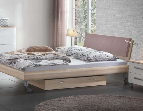 Hasena Bett Softline Noble 14 MDF Bett Rally