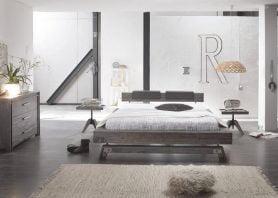 Hasena Bett Factory-Line Bloc 16 Akazie Vintage grey massiv