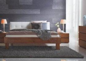 Hasena Bett Oak-Line Modul Massivholz Polster