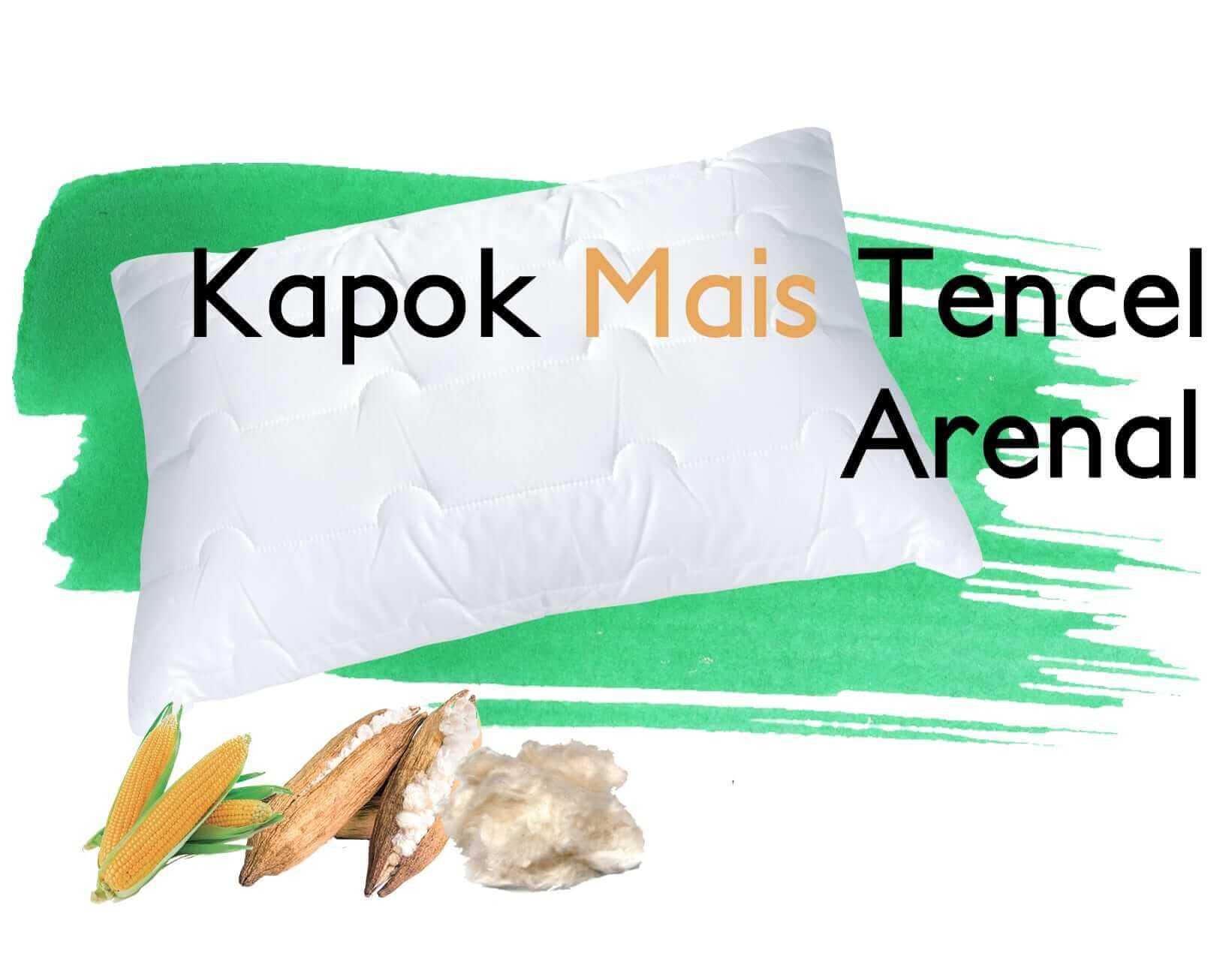 Kissen Kapok Mais Tencel Arenal