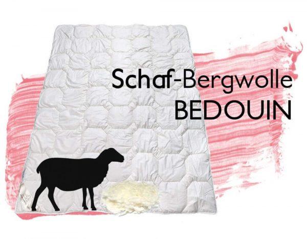 Schafwolleduvet Bedouin Decke Schafwolle