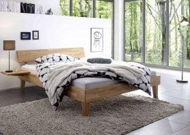 Bett Wood-Line Classic 16 massiv Kopfteil Rino Juve