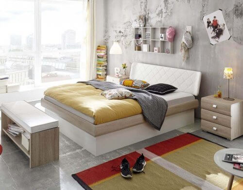 Hasena Bett Softline Noble 14 MDF