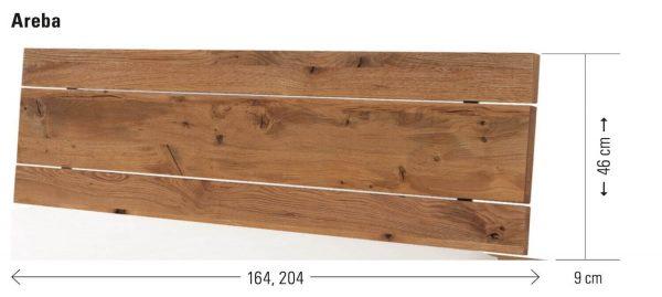 Hasena Kopfteil Oak-Wild Areba