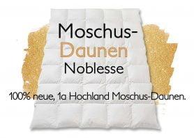"Moschusdaunen-Duvet ""Moschus Luxus"""