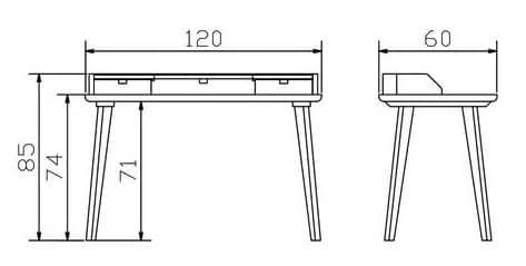 Hasena Aska Schreibtisch Konstruktion