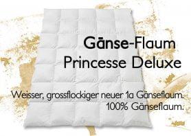 Princess Deluxe Gänseflaum Duvet