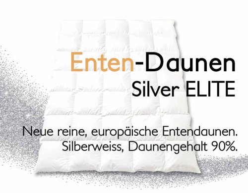 "Entendaunen-Duvet ""Silver Elite"""