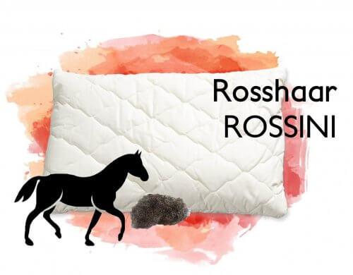 Rosshaar Kissen Rossini