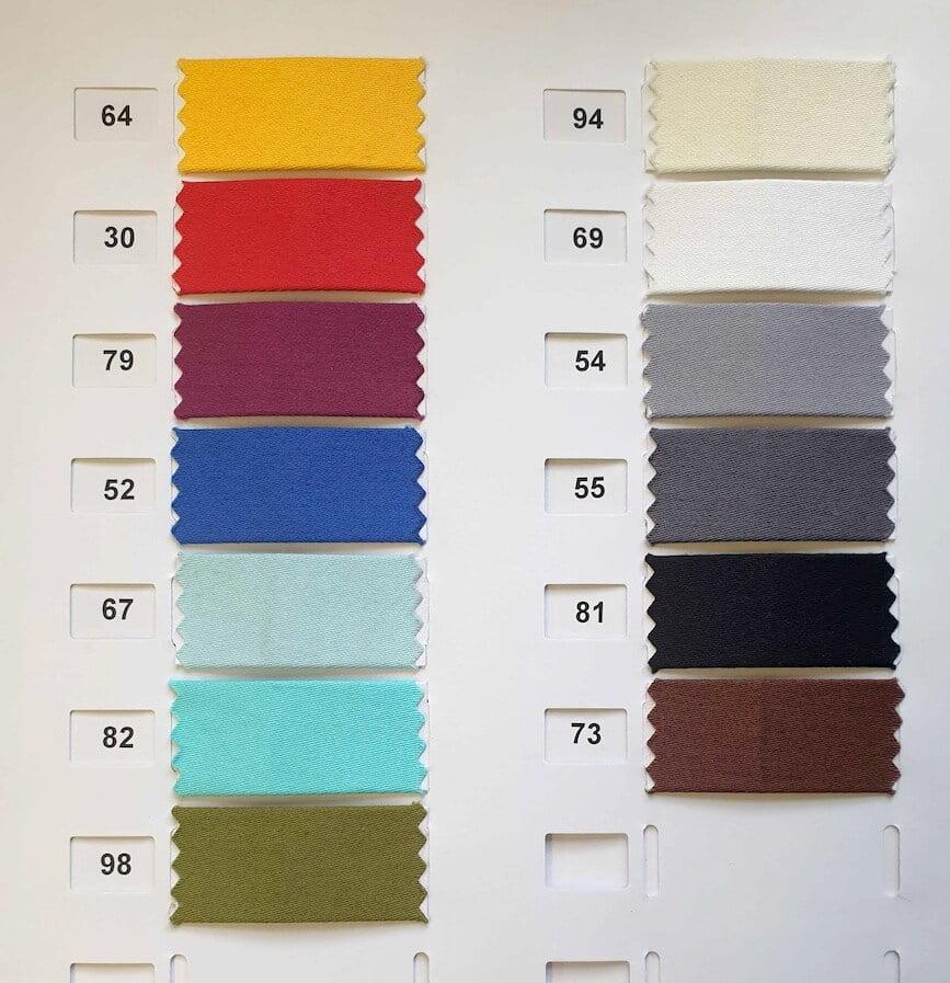 Farbauswahl-Baumwollsatin