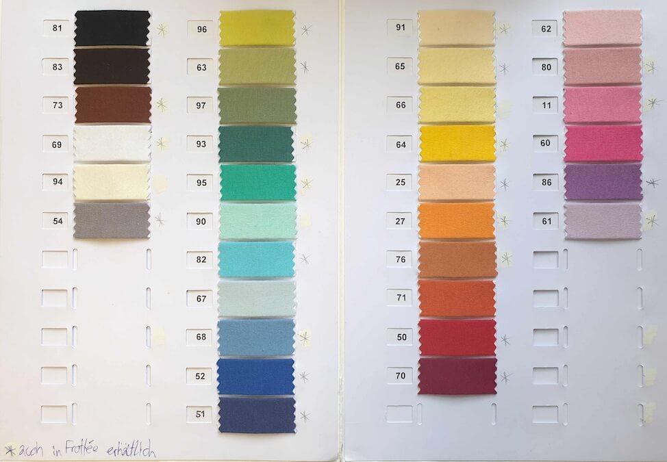 Farbauswahl Jersey Fixleintuch bis Höhe 23cm
