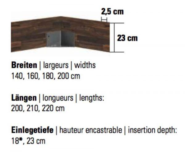 Hasena Trento 23 B Rahmen