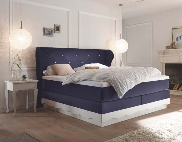 Hasena Boxspringbett Romantic navy
