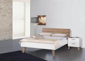 Modular Bett Livorno mit Kopfteil Matino