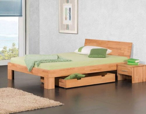 Modular Bett Varese mit Kopfteil Perledo