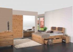 Modular Bett Asti Plus mit Kopfteil Matino