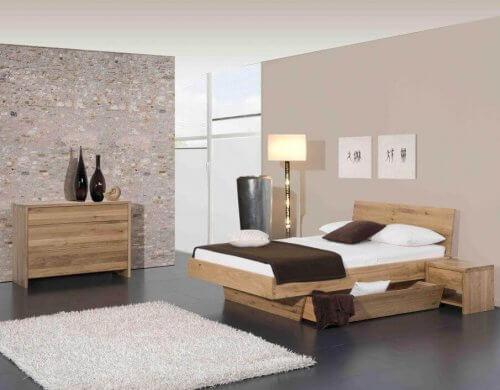Modular Bett Natura Plus mit Kopfteil Matino