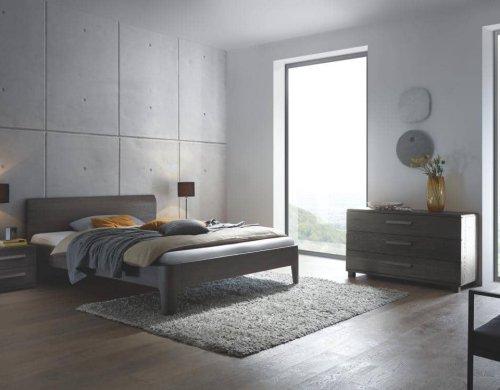 Hasena Bett Modul 18 Eiche Stone grey