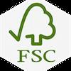 FSC Label – Zertifikat für nachhaltigere Waldwirtschaft. Mehr Informationen in den FAQs.