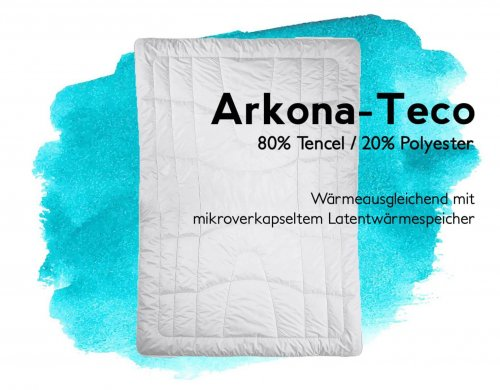 Duvet Arkona Teco Tencel Polyester
