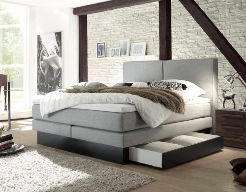 Hasena Boxspring Solutio Anthrazit