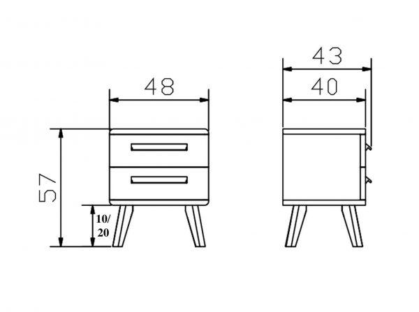 Hasena-Nachttisch-Noma-Sima20-Konstruktion