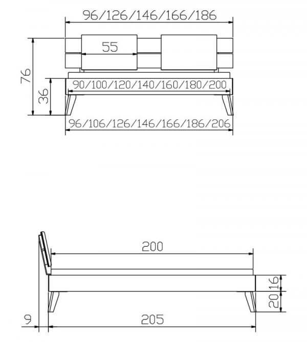 Hasena-Bett-Trento16-Ortona-Konstruktion