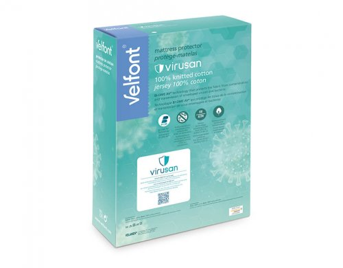 Velfont-Virusan-Matratzenschoner-Verpackung